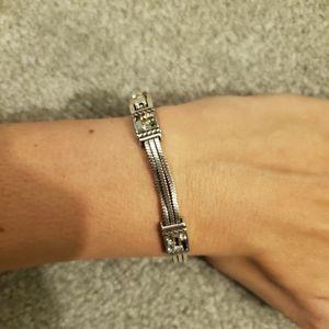 Brighton rhinestone bracelet